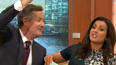 Pray For Susanna Reid, a Woman Condemned To Be Flirted With By Piers Morgan