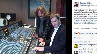 """""""Markus Söder? Der soll den bayrischen Studios bloß fernbleiben!"""""""