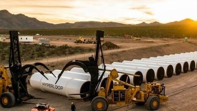Oggi si terrà il primo test pubblico di Hyperloop