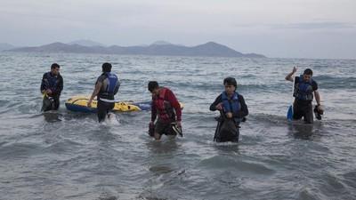 Uvězněni na ostrově Kos