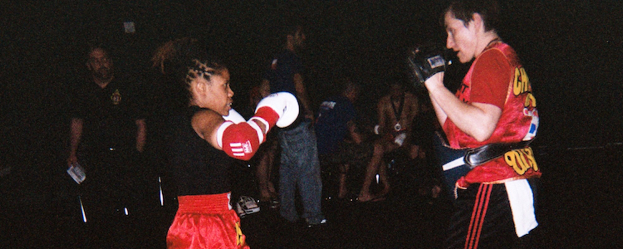 Photos of a Muay Thai Fighter Prepping for a Brawl