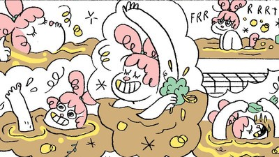 'Ralphie and Jeanie's Home Brewery,' Today's Comic by Alabaster Pizzo