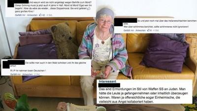 Die Reaktionen auf die 90-Jährige Widerstandskämpferin in Kategorien der Dummheit