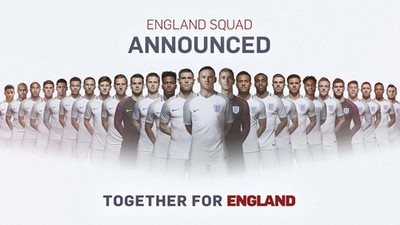 Assessing England's Euro 2016 Chances Based on Hearsay and the New Squad Announcement Alone