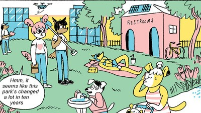 'Ralphie and Jeanie's Time Capsule,' Today's Comic by Alabaster Pizzo