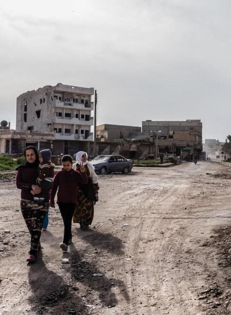 Dentro la devastazione di Kobane