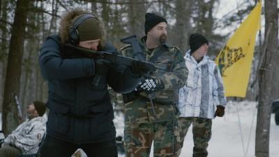 Op pad met de zwaarbewapende Michigan militie
