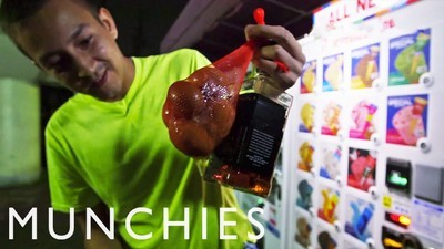 Cum să gătești cu ingrediente din automatele din Tokyo