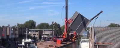 De nieuwe brug in Alphen markeert het einde van een grandioze fuck-up