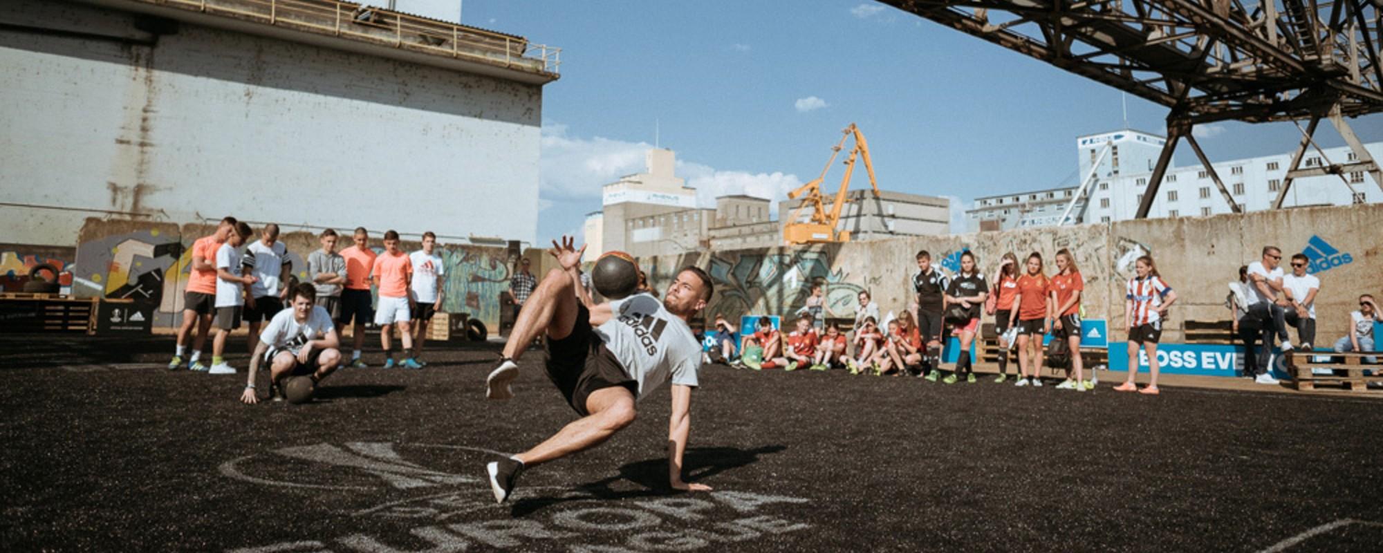 Adidas Kickabout: Finale