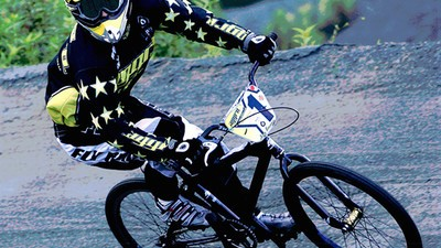 Meet the BMX Racer Raising Awareness About Concussions in Biking
