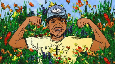 Chance the Rapper Draws His Own Rules with 'Coloring Book'