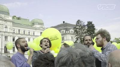 Das Wahlkampf-Finale von Alexander Van der Bellen im Votivpark