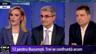 Prima confruntare electorală ți-a arătat ce nepregătiți sunt candidații la primăria Bucureștiului