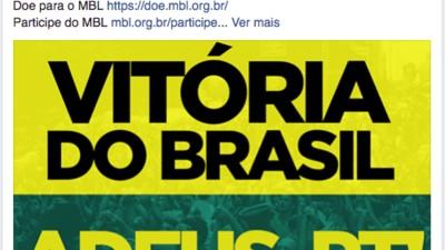 A turma dos protestos verde-amarelo não está satisfeita com os novos rumos do Movimento Brasil Livre