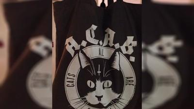 Hablamos con la chica multada por llevar una bolsa con un gatito en la que pone A.C.A.B. (All Cats are Beautiful)
