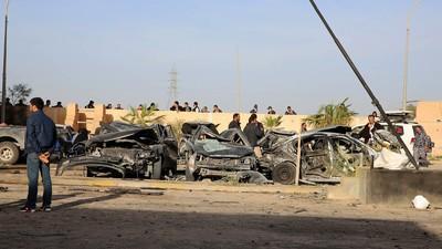 Les Sons of Sahara, bikers dans une Libye devastée