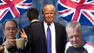 Three Brits Tell Us Why They Love Donald Trump