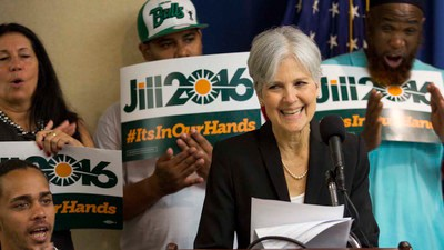 How the Green Party Is Cashing In on the Bernie Sanders Revolution