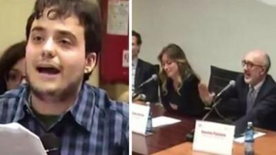 """Sullo studente di Catania che ha """"asfaltato la Boschi"""""""