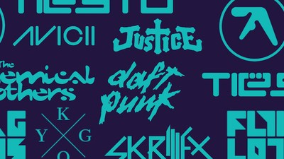 From Aphex Twin to Skrillex, Design Experts Rank Your Favourite DJs' Logo