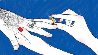 Heiratsanträge sind immer noch Männersache