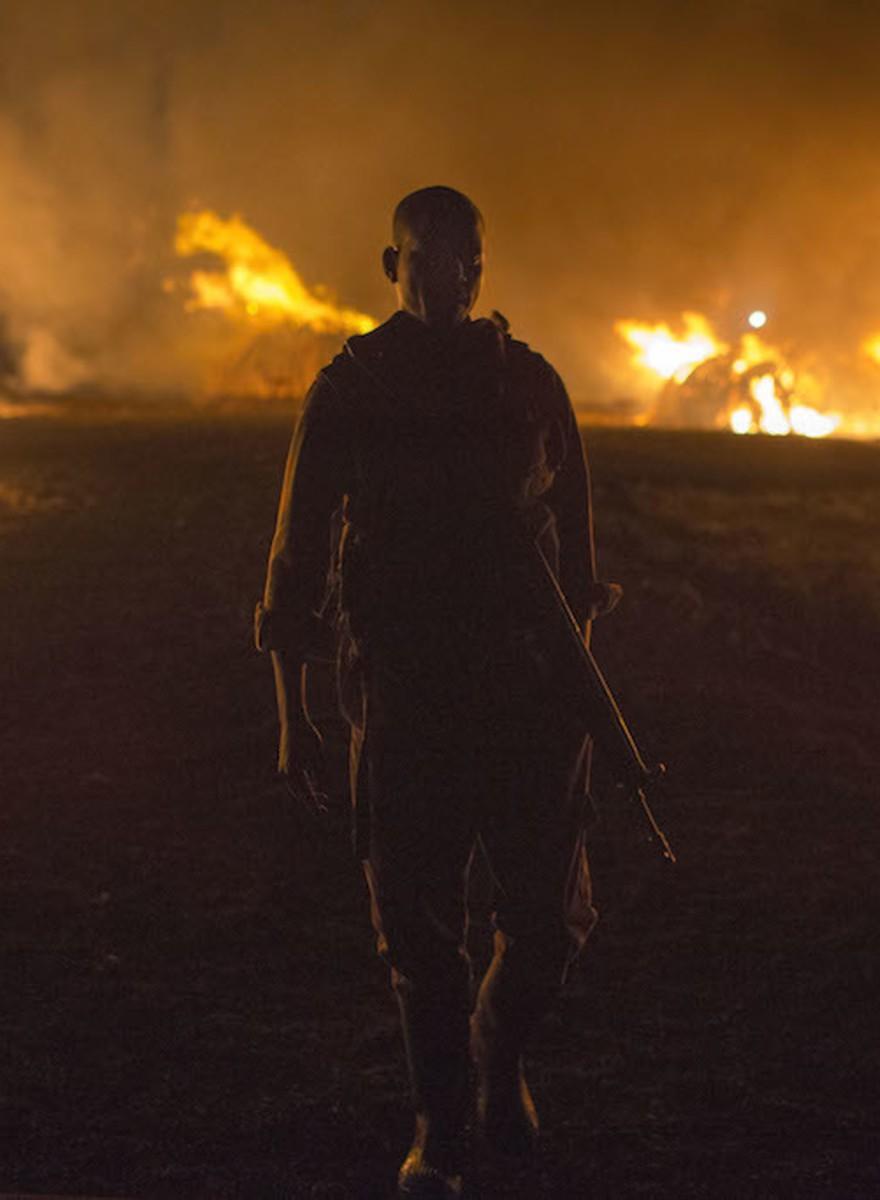 Fotos da maior queima de marfim da história, no Quênia