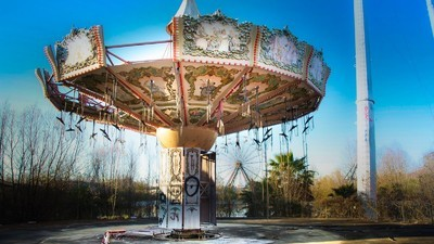 La fascinación por los parques de atracciones abandonados