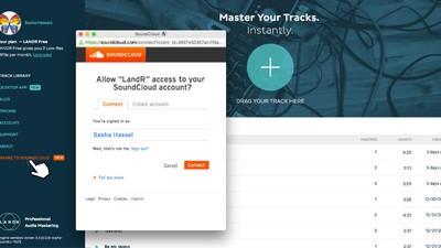 O LANDR liberou masterização grátis para os usuários do SoundCloud