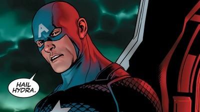 El Capitán América se pasó al bando de los malos