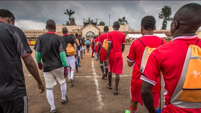 How an Intricate Inmate Soccer League Is Helping Prisoners in Africa