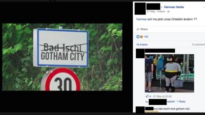 Diese Kleinstadt hat jetzt ihren eigenen Batman