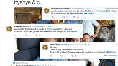 Die härtesten Tweets aus #24hPolizei
