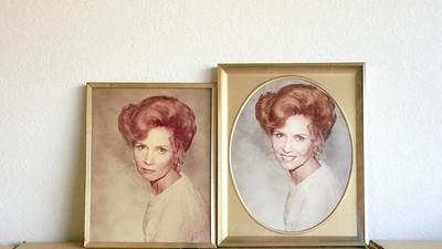 Fotografii cu bunica mea în ultimele ei zile de viață
