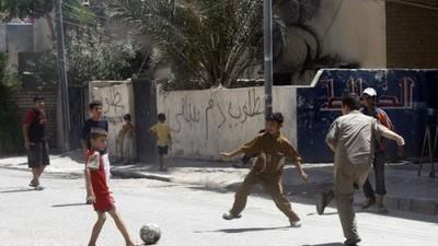 Warum ich in Bagdad mein Leben für Fußball riskiert habe