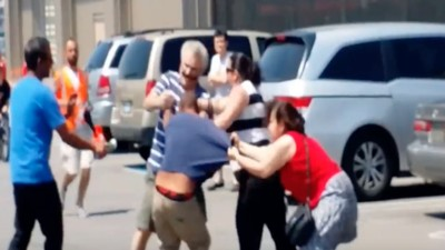 ​Hope for Humanity Officially Dies in Costco Parking Lot Brawl