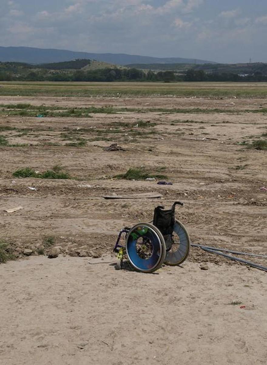 ¿Qué queda en Idomeni después de la evacuación de los refugiados?