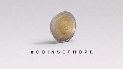 Las monedas de la esperanza luchan contra la desaparición de los niños