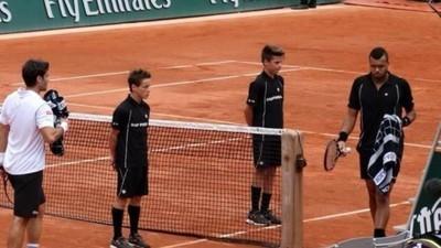 Ramasseurs de balles : l'armée de terre de Roland-Garros