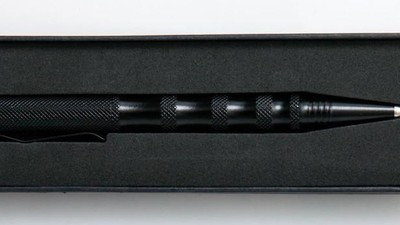 Este bolígrafo es el arma favorita de los guardaespaldas de élite de China