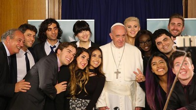 Vlogging is Holy Now Thanks to Cool Pope