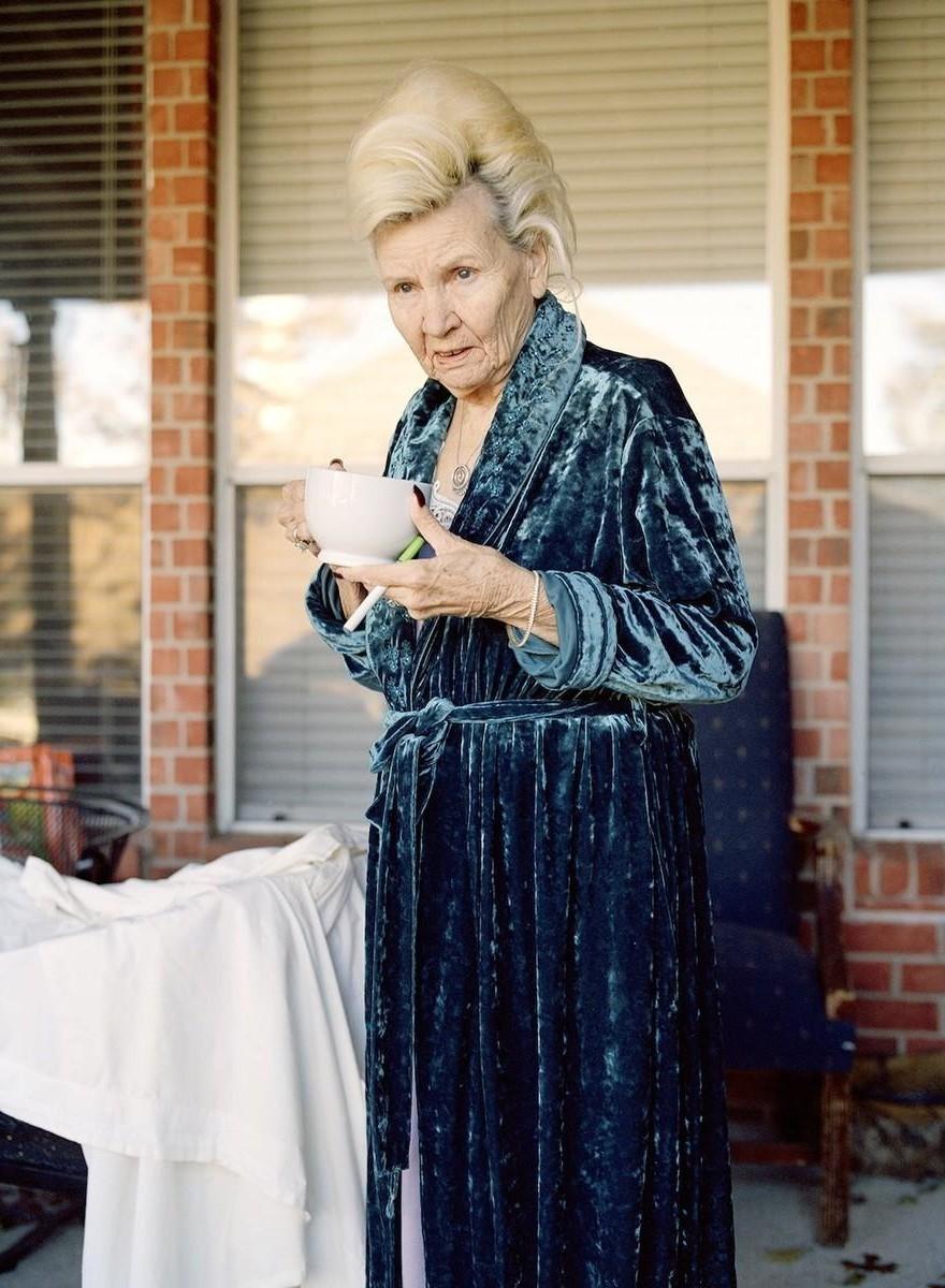 Die letzten Jahre einer sterbenden Großmutter