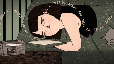 Ik probeerde van mijn slaapstoornis af te komen door naar mijn eigen stem te luisteren in mijn slaap