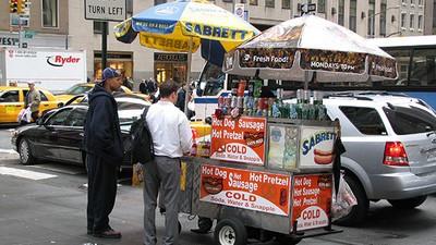 A Pretzel Vendor Operating in an Ice Cream Man's Turf Got Beat with a Bat, Cops Say