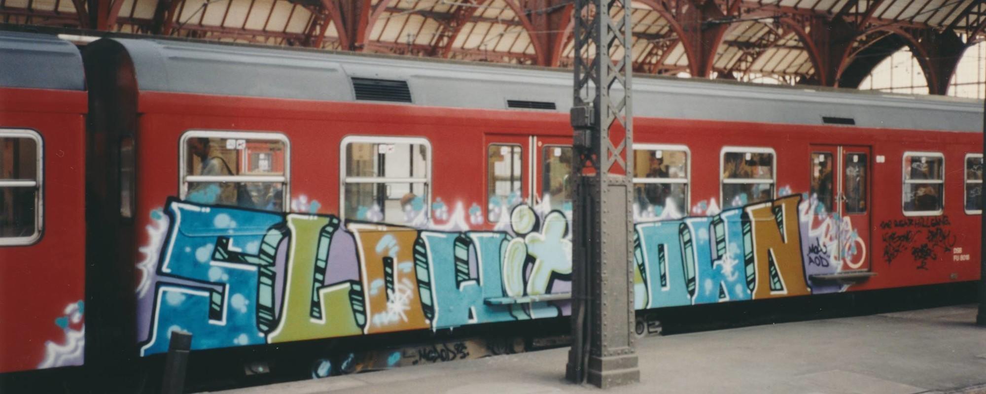 Fotos fra tre årtier med københavnsk graffiti