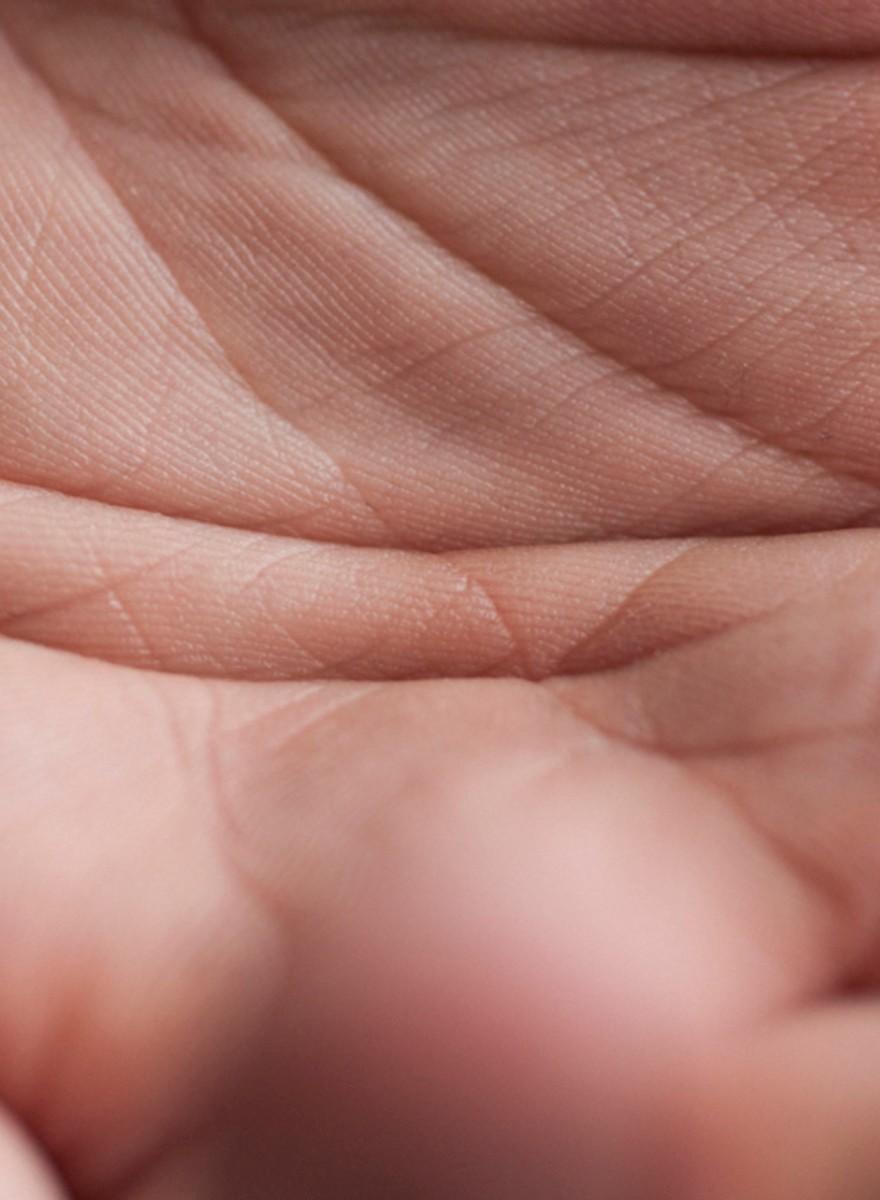 Nahaufnahmen von nackter Haut