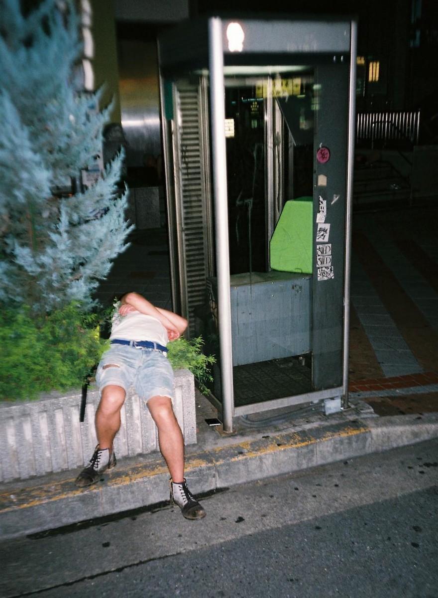 Etica ed estetica di un fotografo di persone ubriache