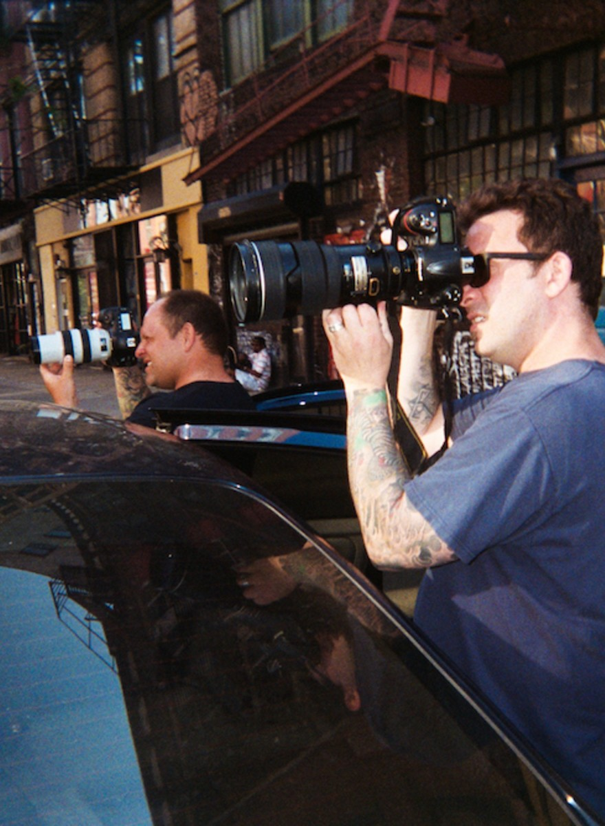 Photos of Paparazzi Hounding Rihanna and Other Celebs