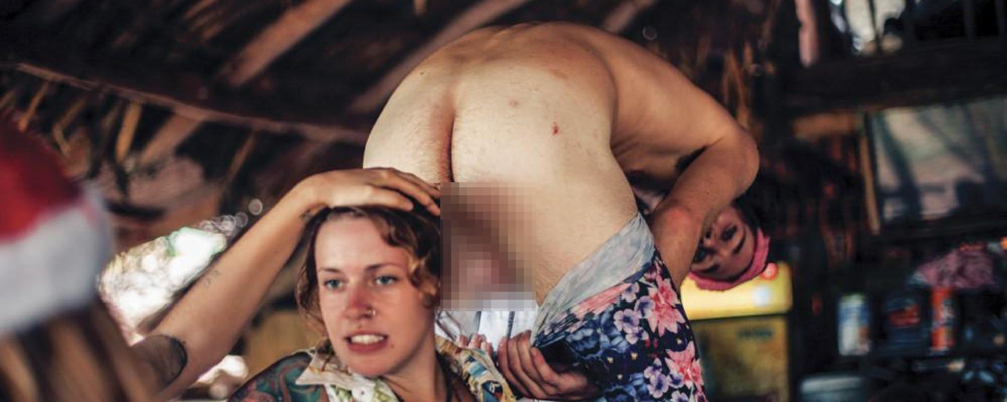 Mírně NSFW fotky z reálné verze filmu 'Pláž'
