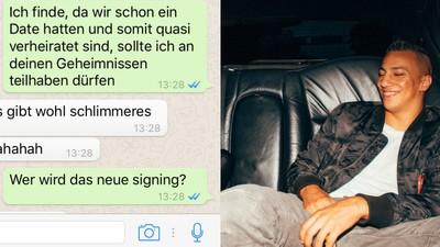 Wir haben Farid Bang via Whatsapp über sein neues Signing ausgequetscht